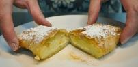 Bougatsa (dessert à la crème pâtissière)